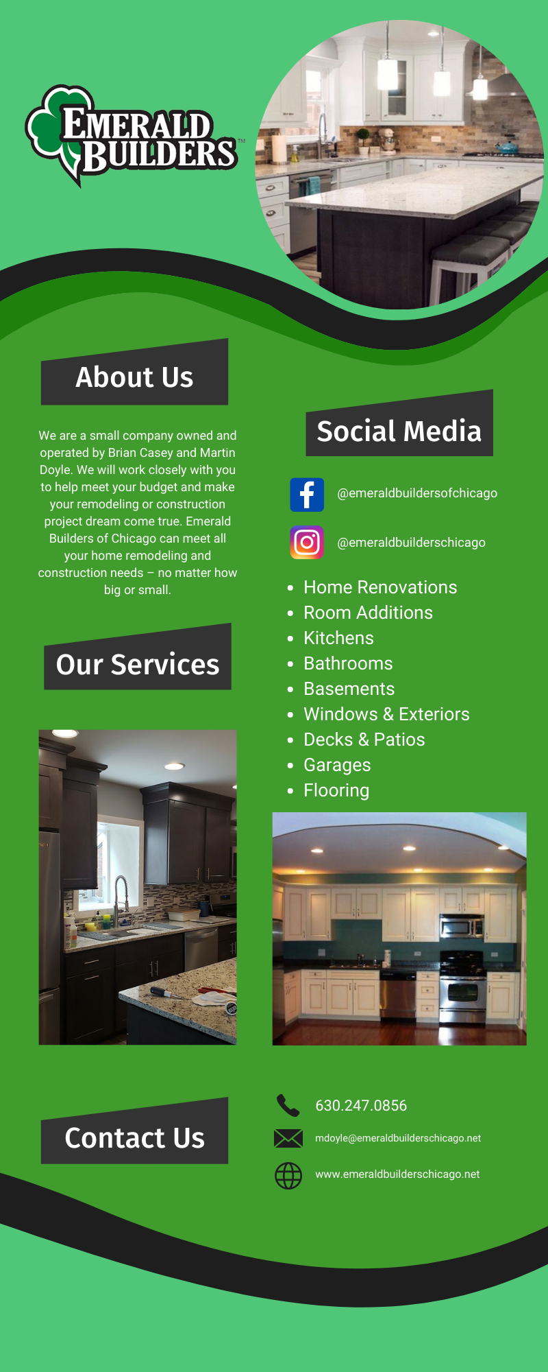 The best in construction & remodeling